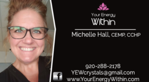 your energy within business card